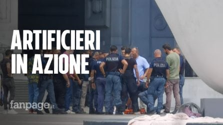Milano, valigia sospetta in stazione: intervengono gli artificieri