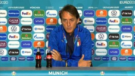 """Euro2020, Mancini sul Belgio: """"Affrontiamo i migliori in Europa ma siamo pronti"""""""