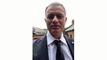 Arriva Mourinho, il videomessaggio ai tifosi della Roma