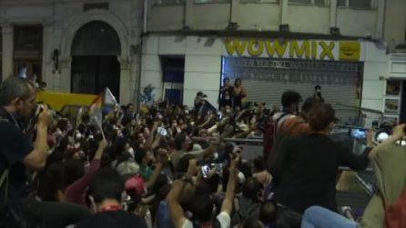 In Turchia donne in piazza contro Erdogan: scontri e arresti