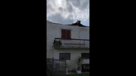 Nubifragi e maltempo sul Canavese: a Favria case inagibili e serre distrutte