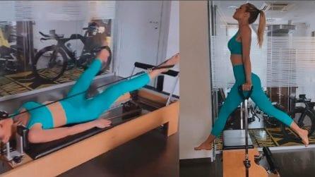 Come si tengono in forma i vip: il super allenamento di Ilary Blasi