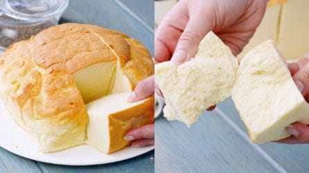 Soufflé castella cake: the typical Japanese recipe, very fluffy and fragrant!