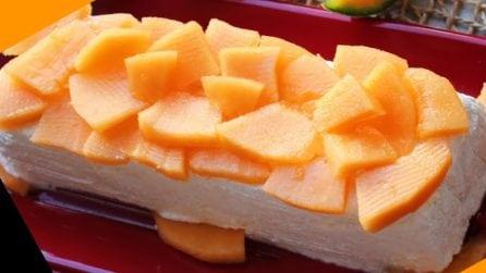 Semifreddo al melone cantalupo: la ricetta bella e golosa