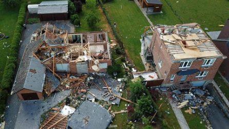 Violento tornado sventra abitazioni, decine di feriti