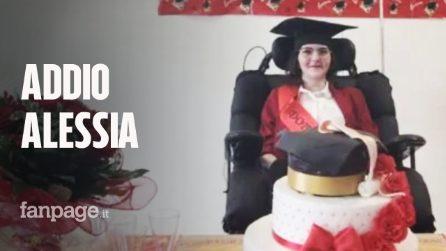 È morta Alessia, solo pochi giorni fa si era laureata in Lingue nonostante avesse perso la parola