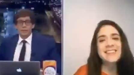 Violento terremoto in Perù: trema tutto in diretta tv mentre il conduttore continua il programma