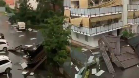 Bolzano, i danni provocati dal forte temporale