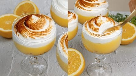 Bicchierini di crema al limone: il dessert goloso da preparare in un attimo!