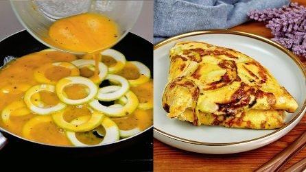 Frittata di zucchine in padella: la ricetta classica servita in modo originale!