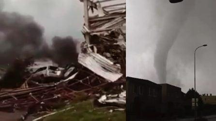 Violento tornado in Repubblica Ceca, interi villaggi rasi al suolo
