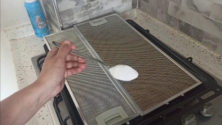 Come sgrassare e pulire il filtro della cappa