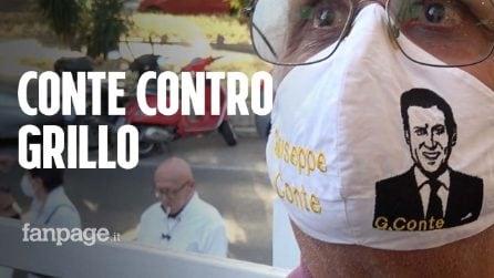 """Taverna (M5S): """"A Conte serve tempo"""". Gli attivisti criticano Grillo: """"Così distrugge il Movimento"""""""