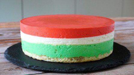 Cheesecake tricolore: il dessert originale e davvero goloso