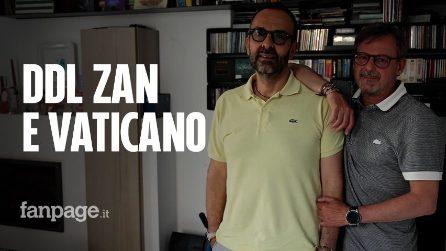 """Ddl Zan, Dario e Andrea gay e cattolici: """"Quella del Concordato mossa disperata, la Chiesa è altro"""""""