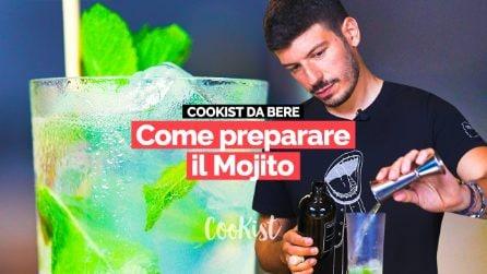 Mojito: la ricetta originale e le sue varianti con uno dei migliori bartender d'Italia