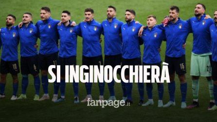 """L'Italia si inginocchierà contro il Belgio: """"Ma il contrasto al razzismo lo faremo in altri modi"""""""