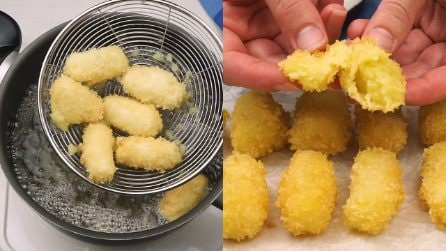 Nuggets: crunchy and ready in no time!