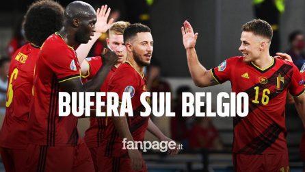 Bufera sul Belgio prima dell'Italia: calciatori incontrano familiari violando il protocollo