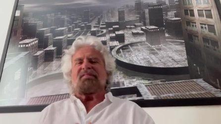 """Il videomessaggio di Grillo: """"Conte ha frainteso, non è adatto per il Movimento"""""""
