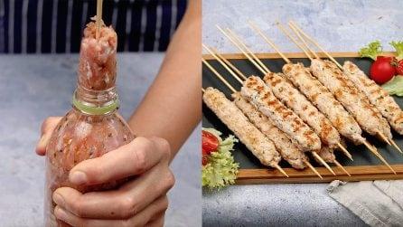 Spiedini di carne macinata: il piatto semplicissimo da servire in ogni occasione!
