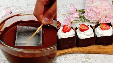 Cestini di cioccolato: il metodo geniale per realizzarli in 10 secondi!
