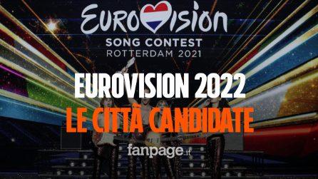 Eurovision 2022 si terrà in Italia, ecco le 17 città candidate