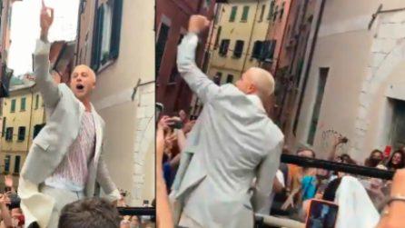 Bernardeschi, il suo matrimonio si trasforma nella festa per gli Europei: è lui stesso ad alzare i cori