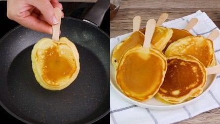Pancakes lollipop: the original idea for a tasty snack!