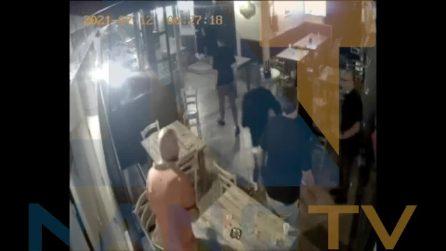 Rapina nel pub a Cardito dopo la finale degli Europei, il raid ripreso dalle telecamere