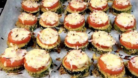 Tartine di zucchine gratinate: la ricetta del contorno veloce e squisito