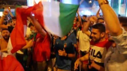 Europei, l'Italia in semifinale: la gioia nelle piazze