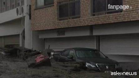 In Giappone 20 persone disperse dopo una frana ad Atami