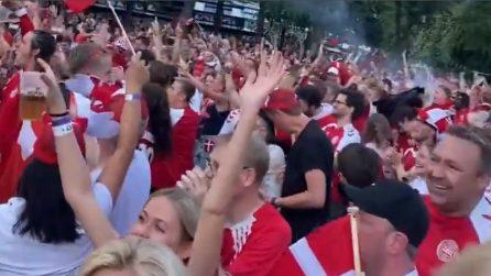 Europei, scoppia la festa in Danimarca per la storica semifinale