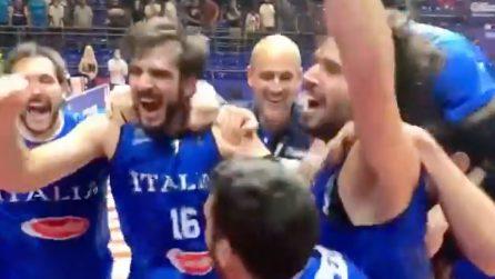L'Italia del basket andrà alle Olimpiadi, battuta la Serbia nella finale del Ptreolimpico