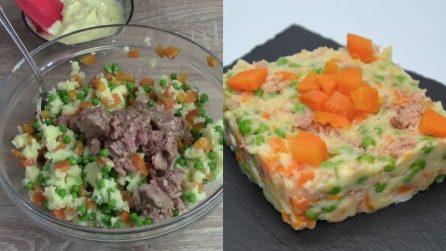 Insalata russa con il tonno: il piatto fresco e gustoso da provare