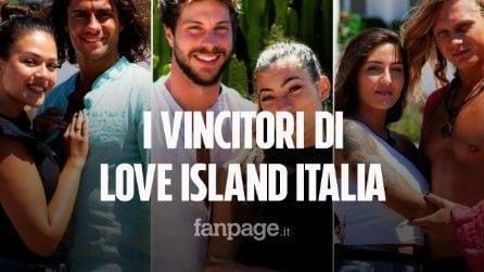 Chi sono i vincitori di Love Island Italia, la coppia premiata con il montepremi da 20mila euro