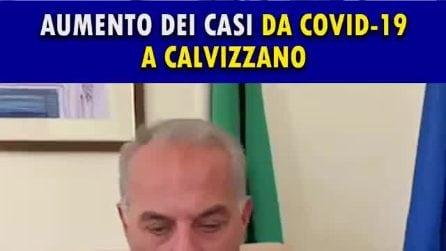 """Aumentano i casi Covid a Calvizzano, il sindaco: """"Inspiegabile, manteniamo alta la guardia"""""""