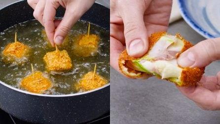 Involtini di zucchine, speck e formaggio: assolutamente irresistibili!