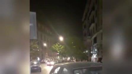 Italia in finale degli Europei: a Napoli cortei di auto