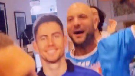 """""""Cunusc a Giorg e Sangiorg?"""", Clementino si scatena dopo il rigore di Jorginho"""