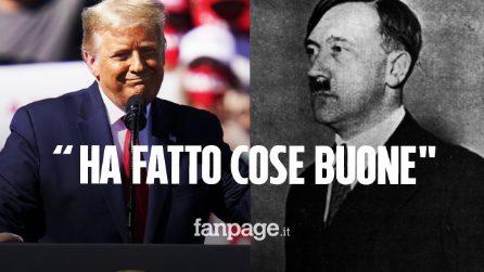 """Donald Trumpnell'occhiodelciclone:""""Beh, Hitler ha fatto molte cose buone"""""""