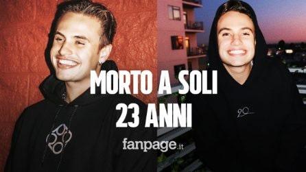 L'attore e modello Daniel Mickelson è morto ad appena 23 anni