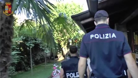 Scatta un provvedimento antimafia: la polizia sequestra una villa a un pregiudicato