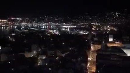 Europei, che boato a Genova dopo il rigore di Jorginho!