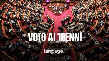 Voto 18enni al Senato, arriva il via libera definitivo del Parlamento: ecco quando entra in vigore