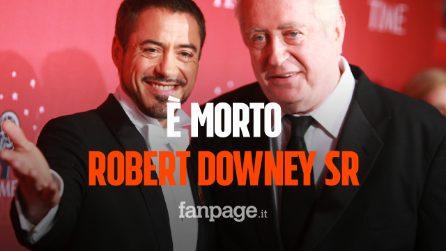 """Morto Robert Downey Sr, addio al papà di Iron Man: """"Se n'è andato nel sonno"""""""