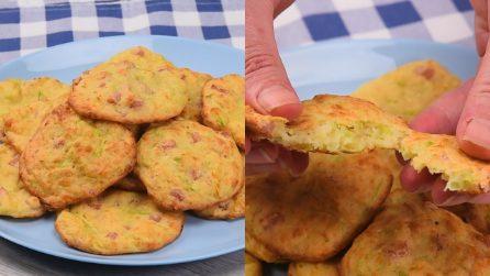 Frittelle di zucchine al forno: la ricetta leggera e veloce!