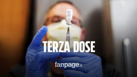 """Pfizer chiederà autorizzazione per terza dose vaccino anti-Covid: """"Dopo sei mesi protezione cala"""""""