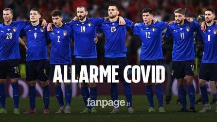 Allarme Covid nel ritiro dell'Italia: tre giornalisti positivi, ritiro blindato